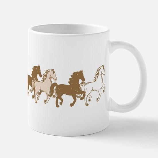 Pretty Ponies Mugs