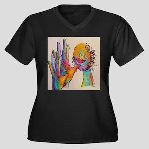 American Sign Language GRANDMOTH Plus Size T-Shirt