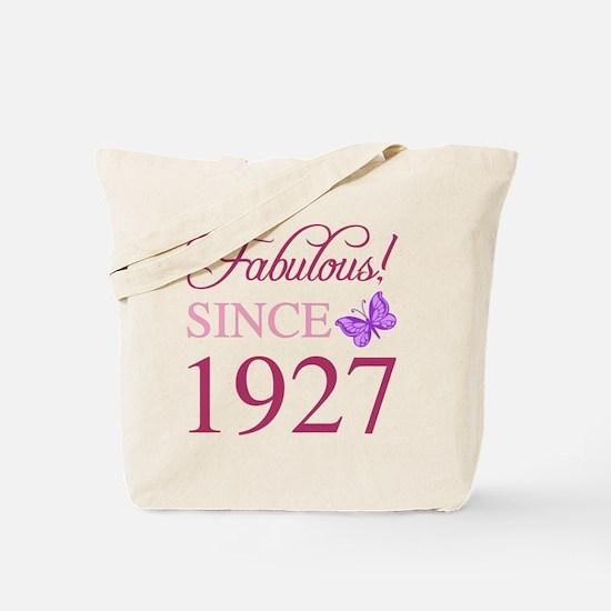 90th birthday women Tote Bag