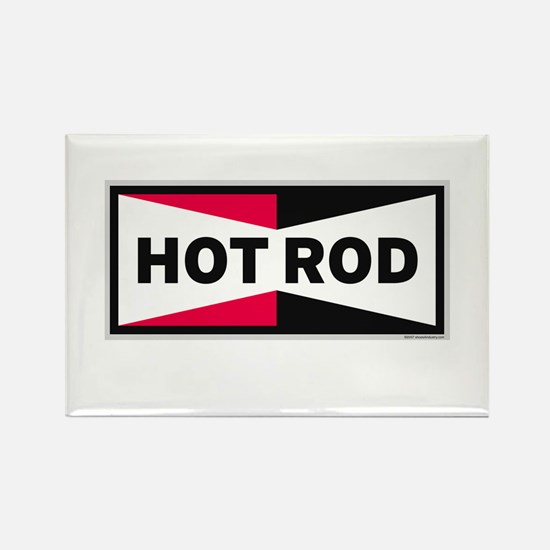 HOT ROD LOGO Magnets
