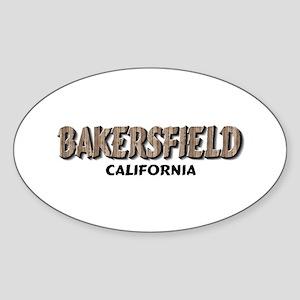 Bakersfield California Sticker