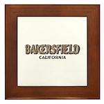 Bakersfield California Framed Tile