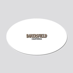 Bakersfield California Wall Decal