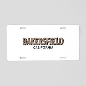 Bakersfield California Aluminum License Plate