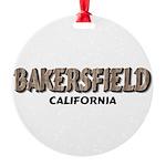 Bakersfield California Ornament
