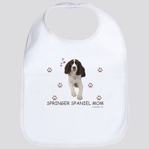Springer Spaniel Mom Baby Bib