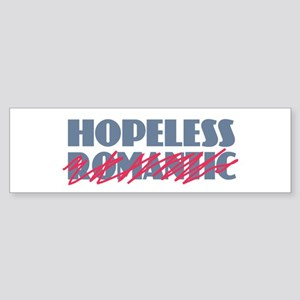 Hopeless Romantic Bumper Sticker