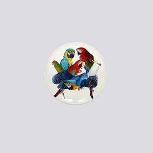 Parrots Mini Button