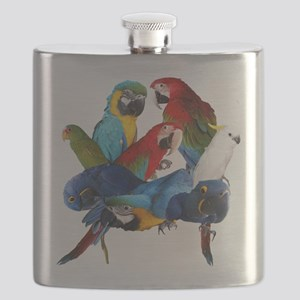 Parrots Flask