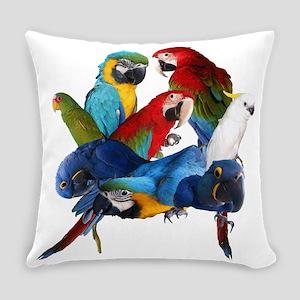 Parrots Everyday Pillow