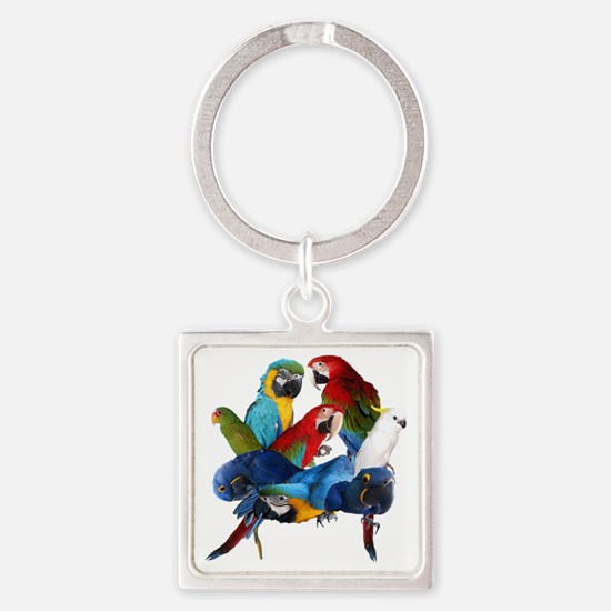 Parrots Keychains