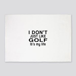 Golf It Is My Life 5'x7'Area Rug