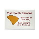 Visit South Carolina..Such As Rectangle Magnet (10
