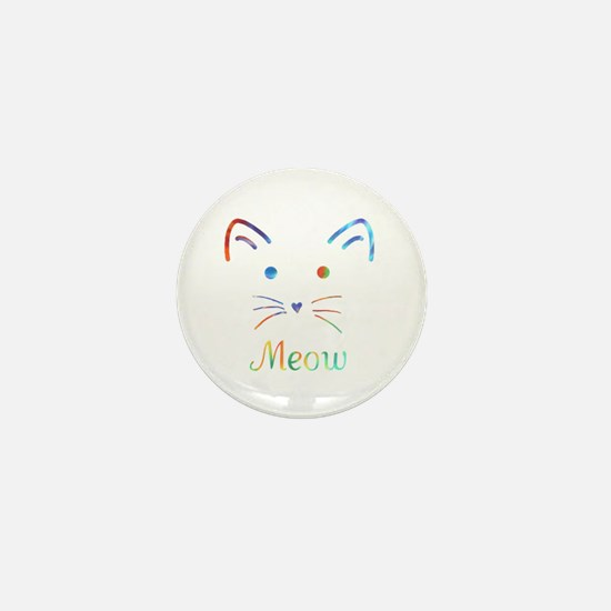 Meow Mini Button