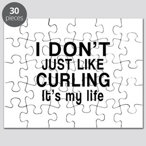 Curling It Is My Life Puzzle