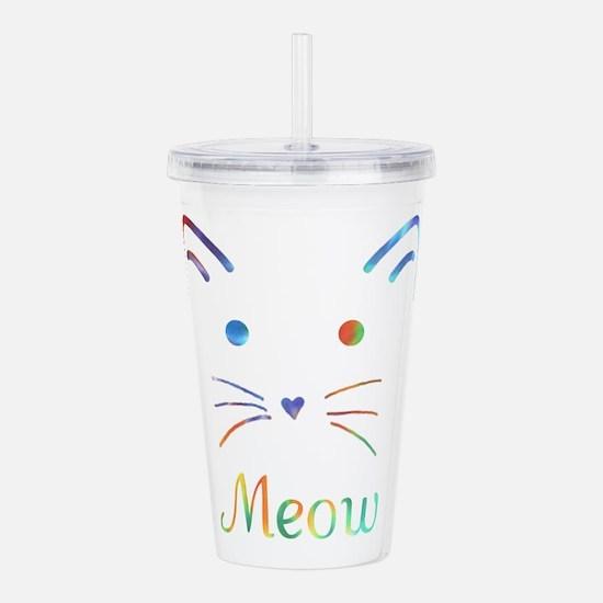 Meow Acrylic Double-wall Tumbler