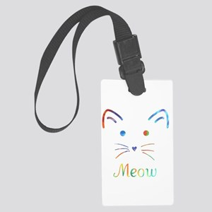 Meow Luggage Tag