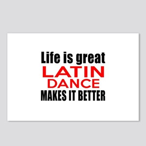Life Is Great Latin Dance Postcards (Package of 8)
