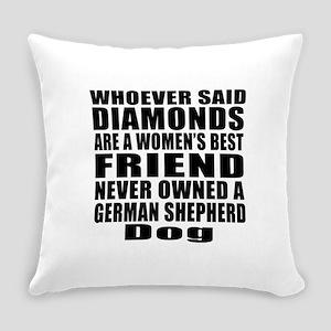 Awesome German Shepherd Dog Design Everyday Pillow