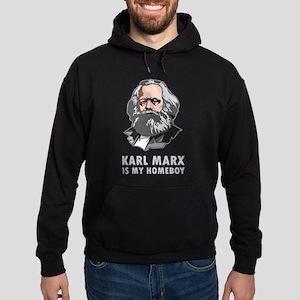 KarlMarx2Bk Sweatshirt