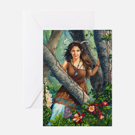 Within the woods Greeting Cards