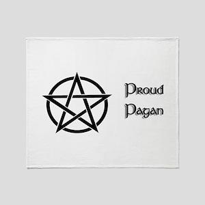 Proud Pagan Throw Blanket
