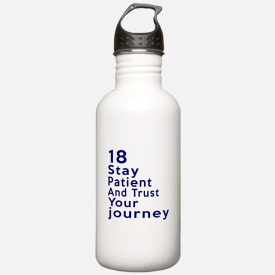 Awesome 18 Birthday De Water Bottle