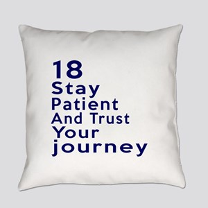 Awesome 18 Birthday Designs Everyday Pillow