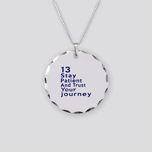 Awesome 13 Birthday Designs Necklace Circle Charm