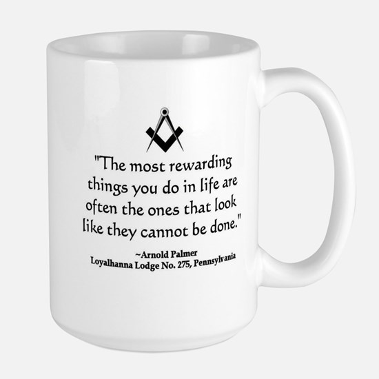 Arnold Palmer Quote Mugs