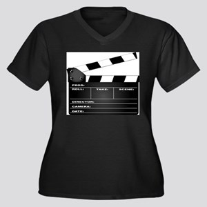 Clapperboard Plus Size T-Shirt