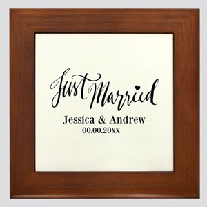 Just Married Gay Marriage Wall Art Cafepress