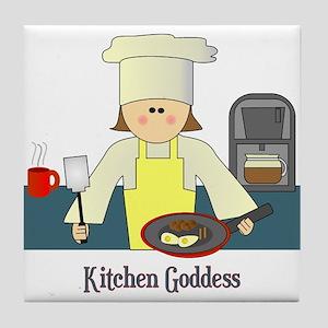 Kitchen Goddess Tile Coaster