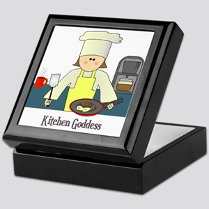 Kitchen Goddess Keepsake Box