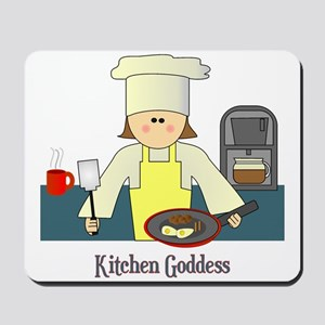 Kitchen Goddess Mousepad