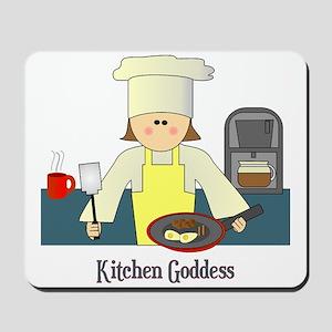Kitchen Goddess Mousepad