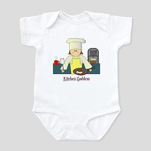 Kitchen Goddess Infant Bodysuit