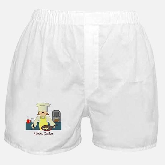 Kitchen Goddess Boxer Shorts