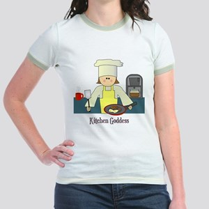 Kitchen Goddess Jr. Ringer T-Shirt