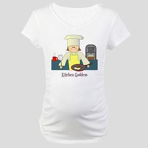 Kitchen Goddess Maternity T-Shirt