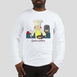 Kitchen Goddess Long Sleeve T-Shirt