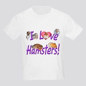 I Love Hamsters #01 T-Shirt
