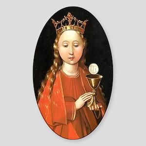 Saint Barbara by Master of the Starck Triptych Sti