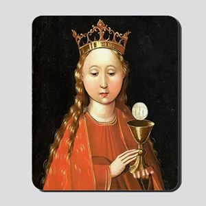 Saint Barbara by Master of the Starck Triptych Mou