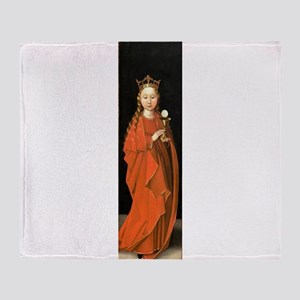 Saint Barbara by Master of the Starck Triptych Thr