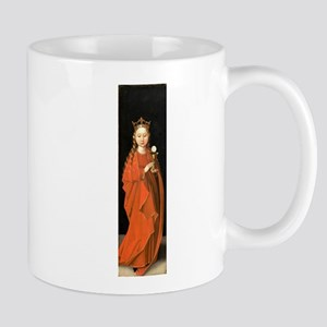 Saint Barbara by Master of the Starck Triptych Mug