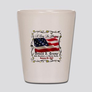 History Trump Pence 2017 Shot Glass