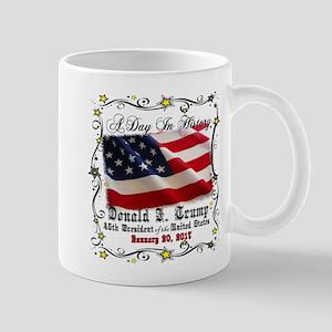 History Trump Pence 2017 Mug
