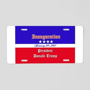 President Donald Trump 2017 Aluminum License Plate