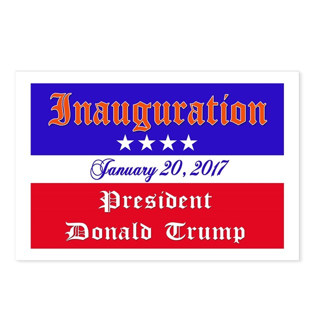 President Donald Trump 20 Postcards (Package Of 8) By